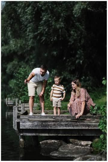 Séance photos en famille au Vignoble sur Valenciennes