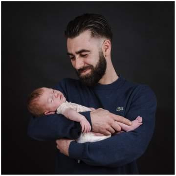 Portraits de la petite Louise - Photographe bébé proche Lille