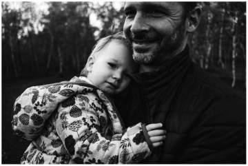 Séance photos en famille autour d'un étang près de Lille