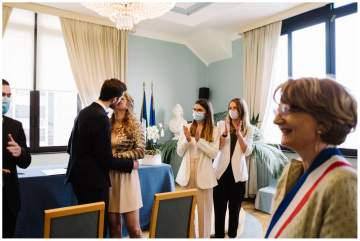 Photographe de Mariage à Lille - Cérémonie civile à Marc-en-Baroeul