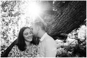 Séance photos en couple dans la forêt de Marchiennes