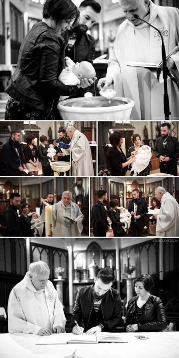 Reportage photos baptême Jude
