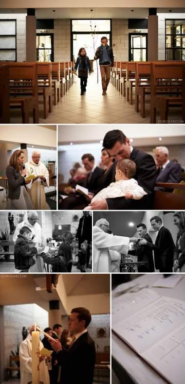 Reportage photos baptême Louise