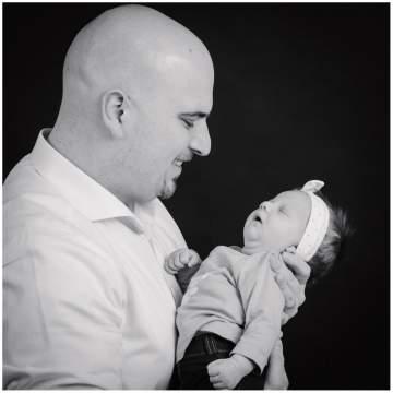 Photographe bébé près de Lille - portraits naissance en studio
