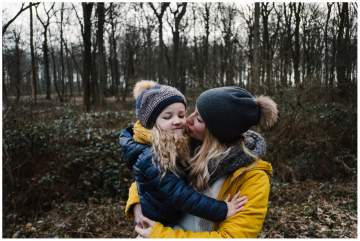 shooting famille en forêt - photographe près de Lille