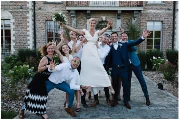 Un mariage au château de Morbecque