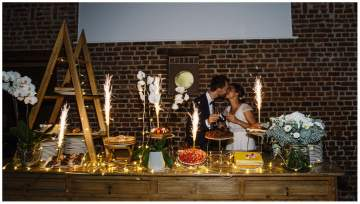 Reportage photo d'un mariage au clos de la source à Hem