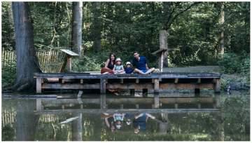 Une séance photos en famille au parc ornithologique des 5 tailles près de Lille