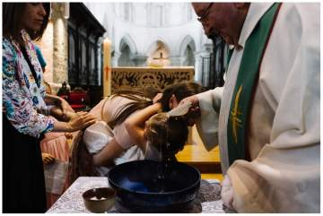Un baptême au château de Beaulieu