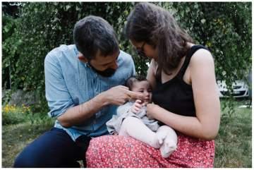 Une vie de bébé en photos