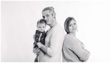 Séance portraits bébé en studio