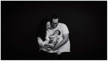 Photos bébé en studio