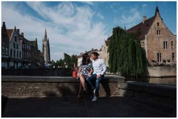 Séance d'engagement à Bruges