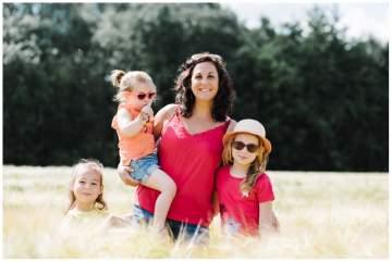 Portraits de famille au Marais de Bonnance