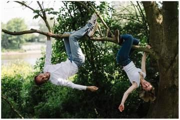 Séance photos en famille au parc naturel urbain à Lille