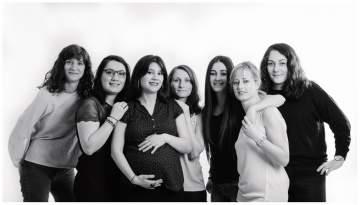Photos de grossesse entre copines