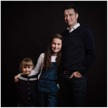 Photos de grossesse en famille