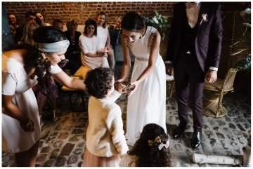 Un mariage aux etables de L'aunelle