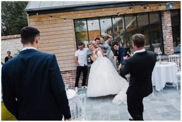 Mariage à la ferme de la Fromentière